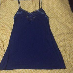 Navy blue Victoria Secret Nighty